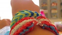 Pletení náramků z gumiček